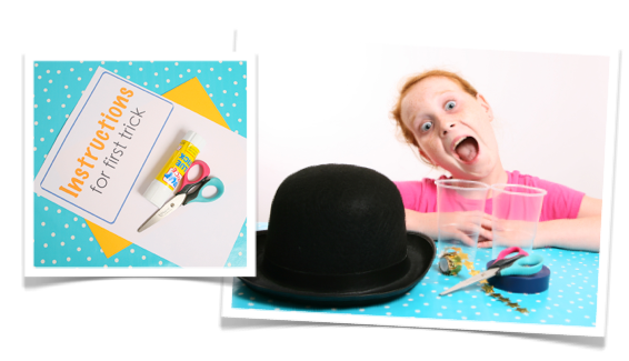 Magic tricks that are easy ato do for kids