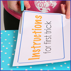 Learn how to make easy magic tricks for kids