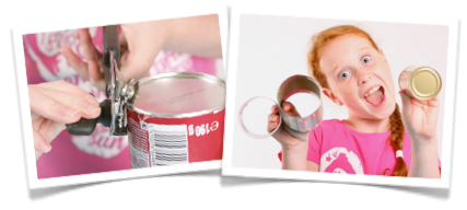 Instructions on how to make the can can magic trick kids can do