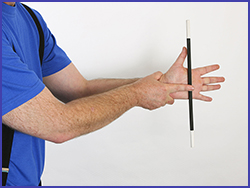 Easy magic tricks with wands