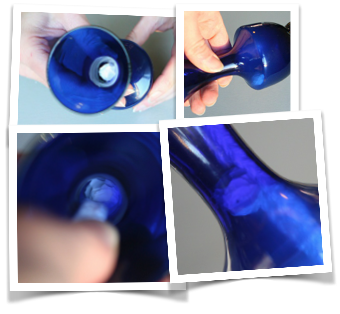 Floating vase illusion