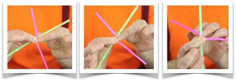 unlinking drinking straws