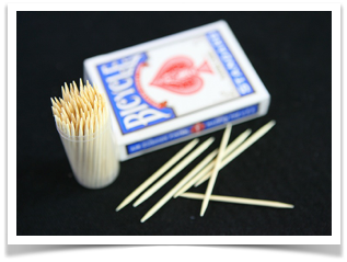 Electric toothpick trick
