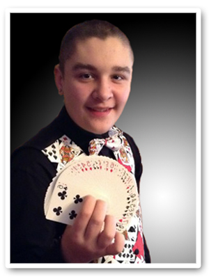 young magician Jake Allen small
