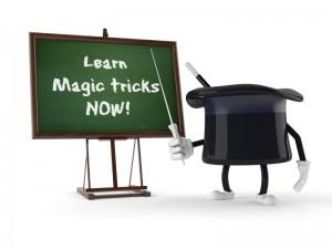 hat and blackboard learn magic tricks