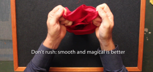 Hanky Vanish Hand Position - Vanishing Coin Magic Trick - Magic Tricks For Kids