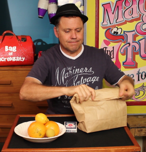 Julain Closed Paper Bag - Food Magic Trick - Magic Lessons #12 - Magic Tricks For Kids