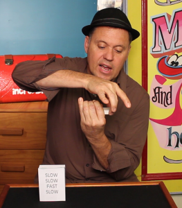 Julian Performing Match Box Trick - Match Box Magic Trick - Magic Tricks For Kids