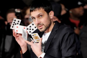 Dynamo the Magician Action Shot