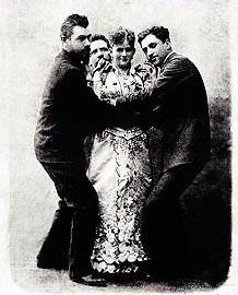 Magician Annie Abbott Portrait