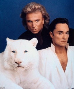 Siegfried and Roy Portrait - Magic Tricks for Kids - History of Magic