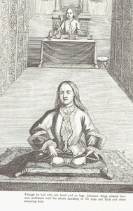 Johanne Brigg Sitting on a Mat