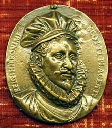 Hieronymus Scotto Medallion