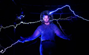 David Blaine Shocked by Electricity