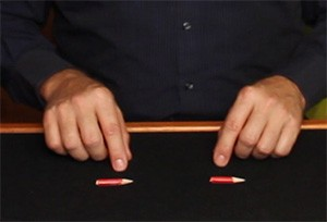 Pencil Magic Trick Display