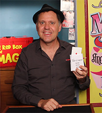 Julian and the Card-O-Matic Trick