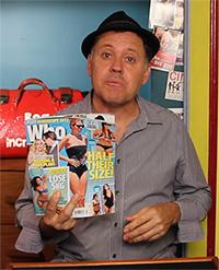 Magazine Prediction Trick with Julian