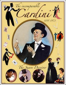 History of Magic: Cardini's poster