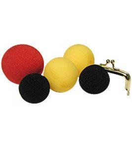 Albert Goshman sponge balls and purse frame