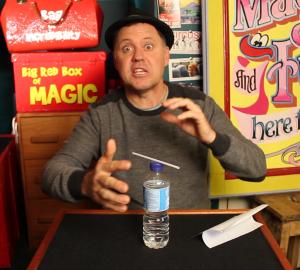 Julian Magic Straw Psychic - Halloween Magic Trick - Magic Lessons #4 - Magic Tricks For Kids