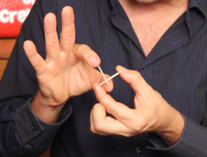 Penetrating Matches Demonstration - Penetrating Matches Trick - Magic Lessons #18 - Magic Tricks For Kids