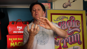 Julian Rubber Band Performing - Jumping Rubber Band Trick - Magic Lessons #22