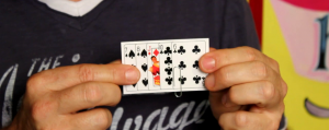 Clipped Card Trick in Action - Magic Tricks for Kids - Magic Lessons of the Week