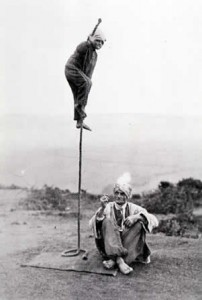 Indian Rope Trick Demonstration