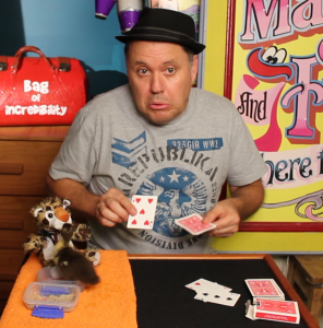 Julian Showing Cards Demonstration