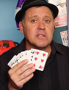 Julian Card Fan - CSI Magic Trick