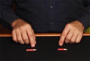 Pencil Magic Trick Display